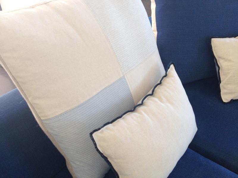 Rideaux couture tapissier mousses housses coussins - Coussin exterieur sur mesure ...